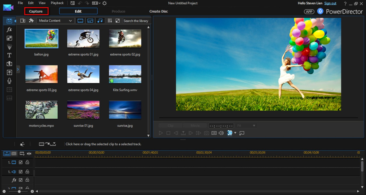 screen capture and editing software
