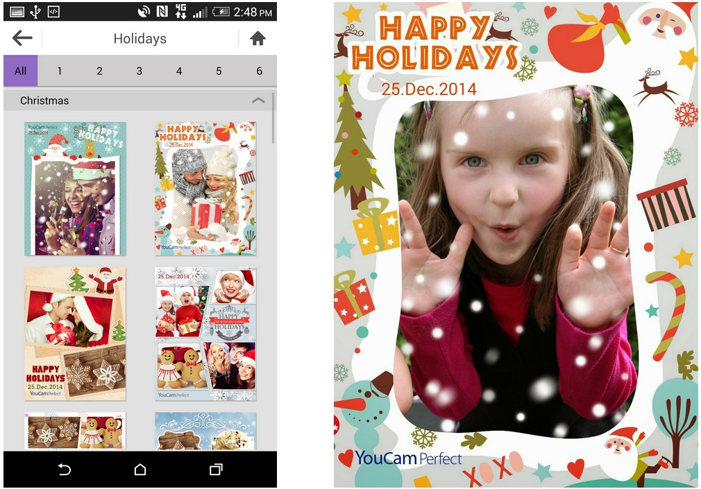 Select Your Image Or Images From Photo Albums Then Rearrange The Photos Zoom In Out And Click Save Icon Top Right Corner Of Screen