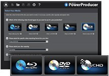 PowerProducer - Disc authoring for Blu-ray and DVD | CyberLink