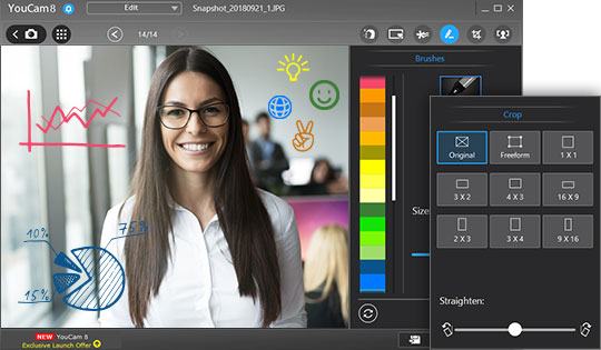 Webcam Software | YouCam Webcam Effects for Video Calls
