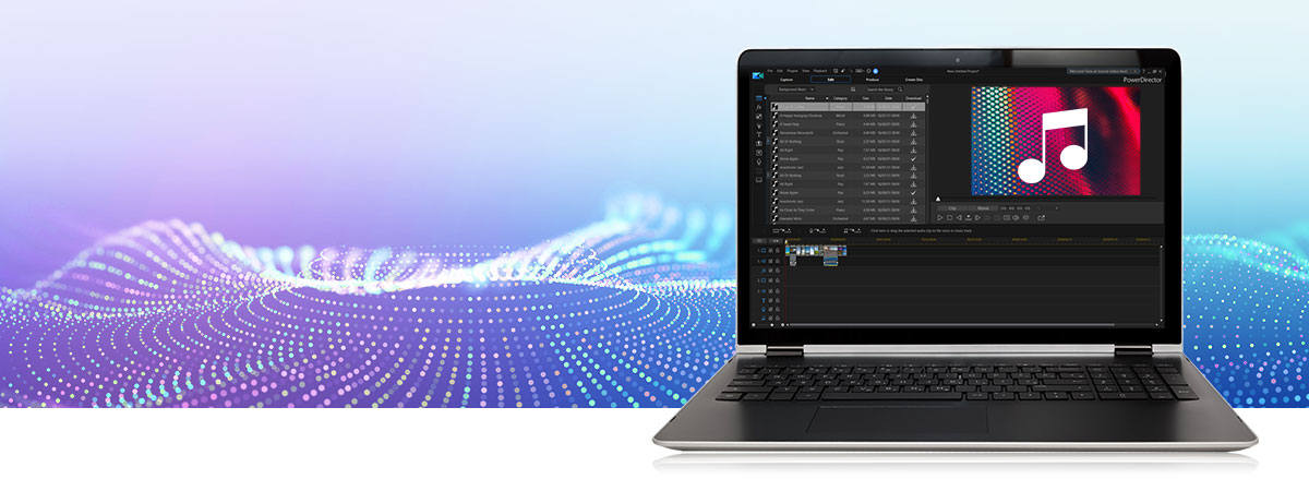 Import, edit and export in 360º video format with the most powerful video editing software features.