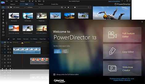 CyberLink PowerDirector 13 Ultra - The Fastest and Most Flexible Video Editor