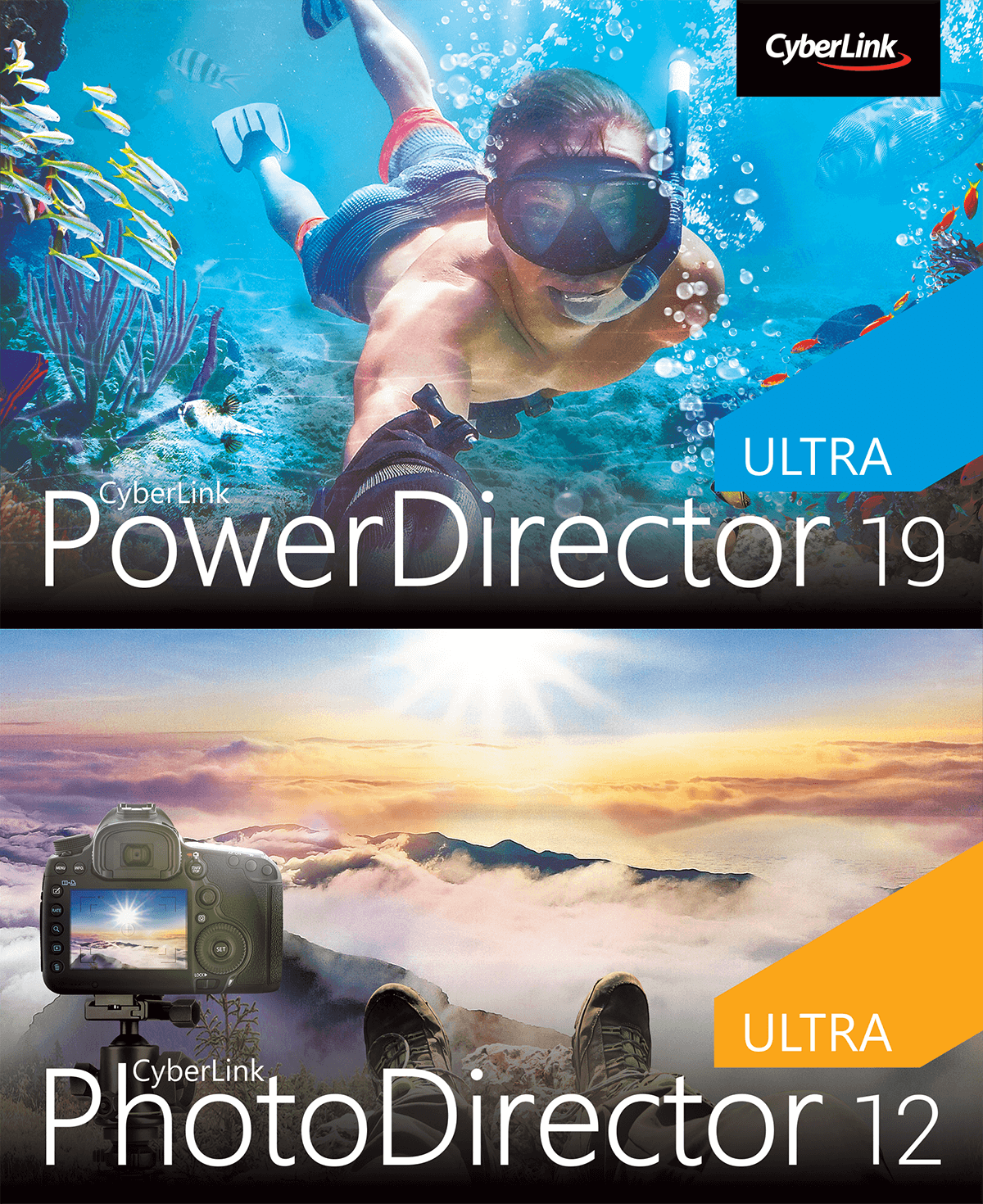 PowerDirector 19 Ultra & PhotoDirector 12 Ultra