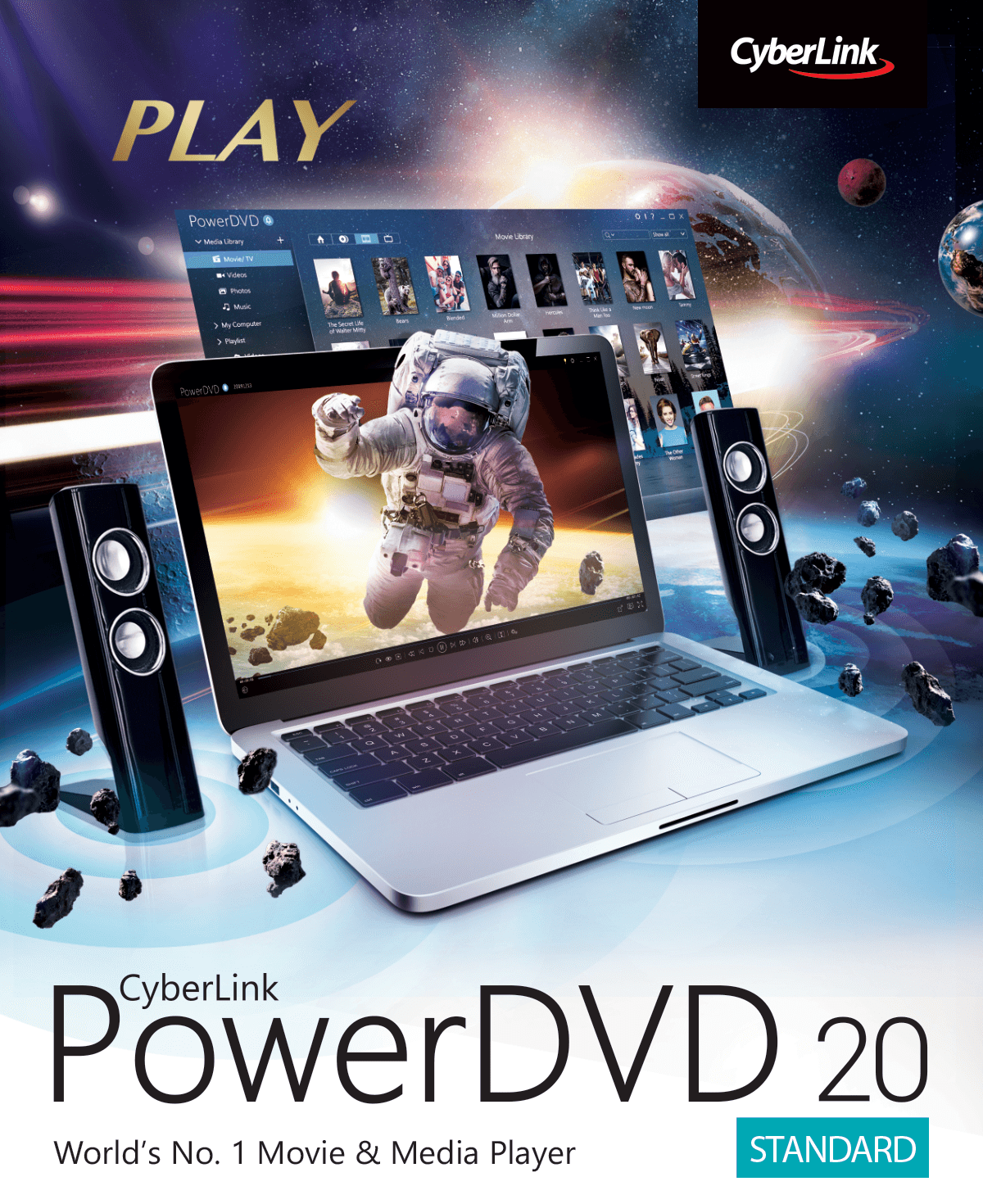PowerDVD 20 Standard – The Best Media Player
