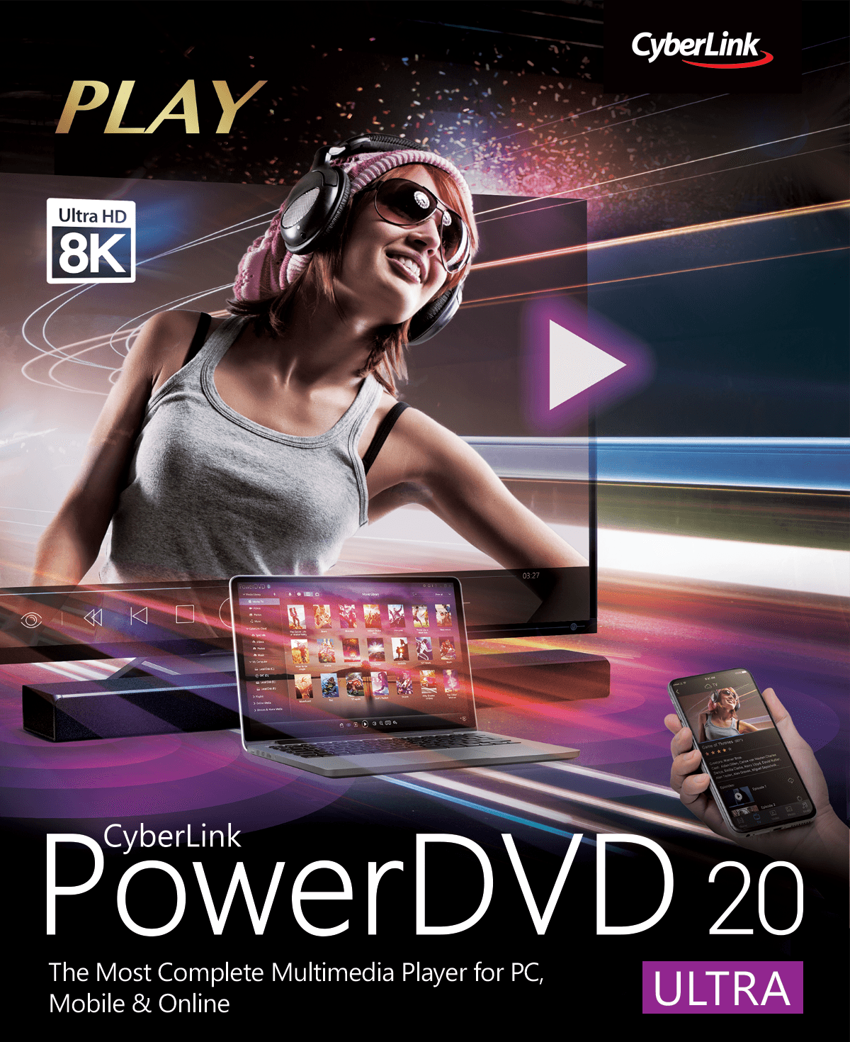 CyberLink PowerDVD Ultra 20