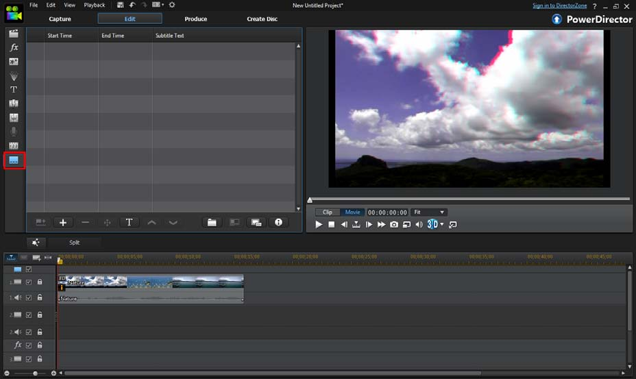 PowerDirector Tutorial | Basic | Creating a Video Clip with