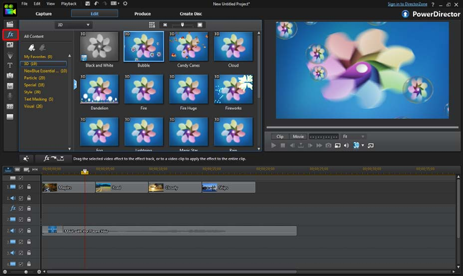 Powerdirector Tutorial Basic Creating A Video Clip