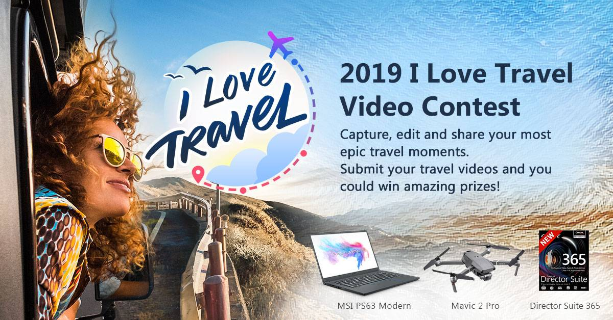 2019 'I Love Travel' Video Contest CyberLink