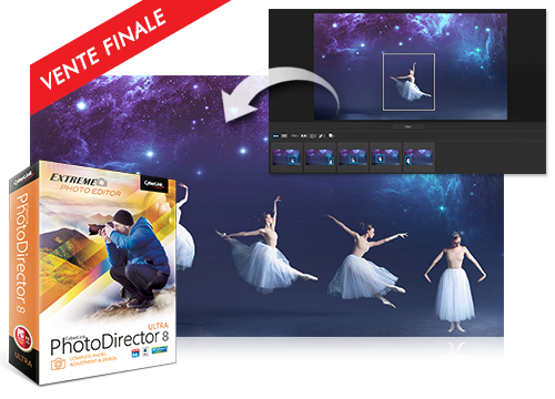PhotoDirector 8 - Meilleur Logiciel de Retouche Photo 2017