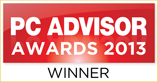 Best Photo/Video Software Award, PC Advisor, UK