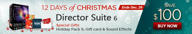 Director Suite 6 - Complete Video, Audio & Photo Editing Software