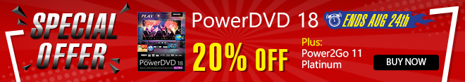 PowerDVD 17: World's No. 1 Movie & Media Player
