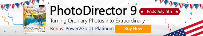 PhotoDirector 9 - Complete Photo Adjustment & Design