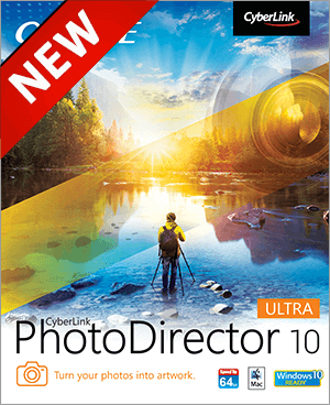 Extra 10% Discount – Cyberlink PhotoDirector 10