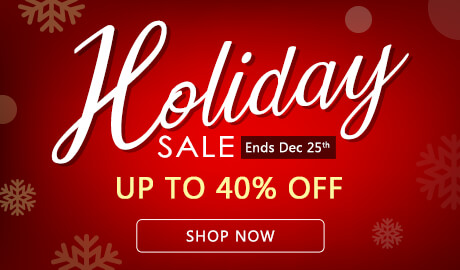 Holiday Sale Up to 40% Off!