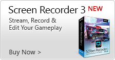 Screen Recorder 3 - Capture, cast and edit from your PC or console