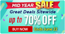 Mid Year Sale – Great Deals Sitewide up to 70% OFF!