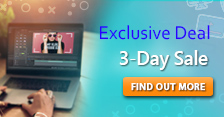 Exclusive Deal for Vloggers! 3 Day-Sale up to 75% Off