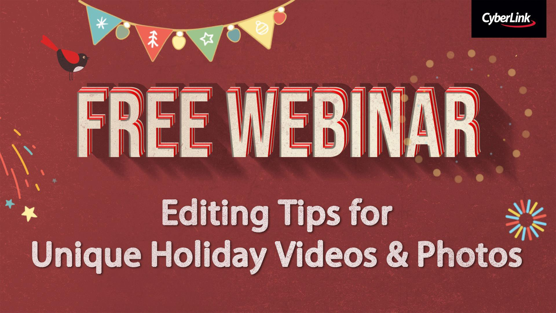 Editing Tips for Unique Holiday Videos & Photos