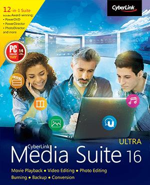 Extra 10% Discount – Cyberlink Media Suite 16