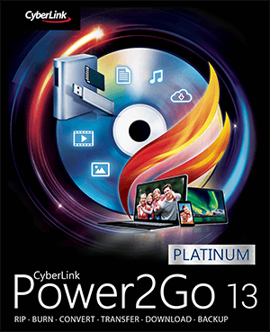 Power2Go: Disc Burning, Authoring & Backup Software