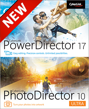 PowerDirector 17 + PhotoDirector 10