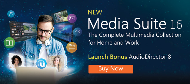 Media Suite 16 - The Most Complete Collection of Award-Winning Multimedia Software