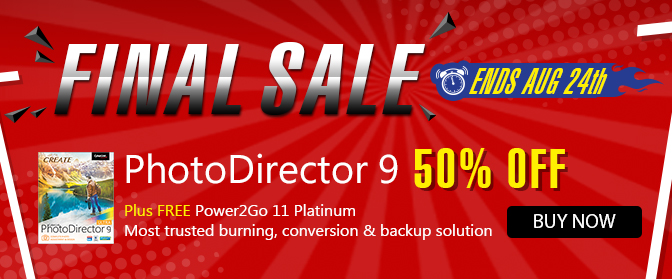 Buy the Latest PhotoDirector 9!