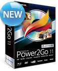 Power2Go 11: Burn, Backup and Enjoy Media On-the-Go