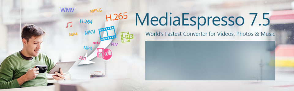 MediaEspresso 7 5 Video, Photo & Music Converter | CyberLink